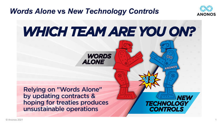 Words Alone vs New Technology Controls
