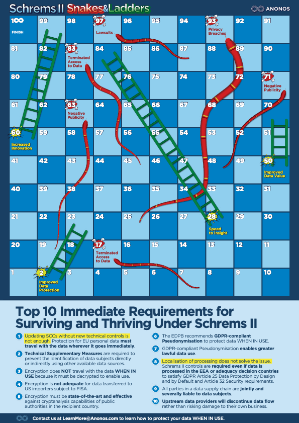 Top 10 Immediate Requirements for Surviving and Thriving Under Schrems II